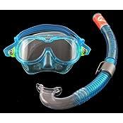 Aqua Lung 24292.Q, Aqua Lung Kinder Maske & Schnorchel Set-Reef Dx + Air Dx, aqua, 109600