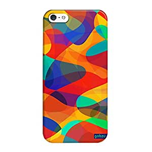 Gobzu Printed Back Covers for iPhone 5S - Abstract-2
