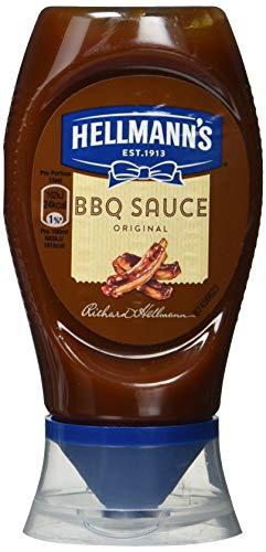 Hellmann's BBQ Sauce Original Grillsauce (mit typisch süßlich-rauchigem Geschmack Klassische amerikanisches), 8er Pack (8 x 250 ml)