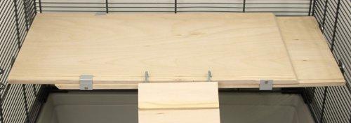 Ausziehbare Holzetage FLEX-ED 45
