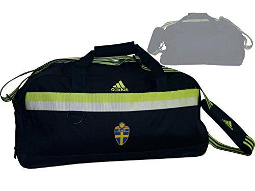 8fc74d42efd25 adidas Schweden Sporttasche SVFF Teambag dunkelblau Fan Tasche  Weltmeisterschaft 2018 in Russland