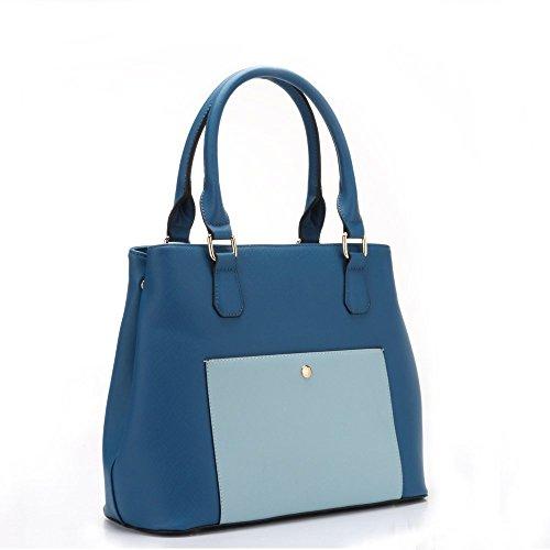 HB Style , Sac femme Fille Bleu - Blue/Aqua