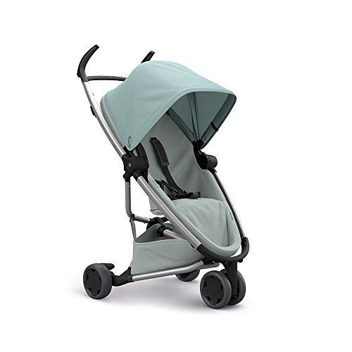 Quinny Zapp Flex Stylischer Komfort-Drei Räder Buggy, mit vielen Extras, leicht, kompakt faltbar, ab der Geburt nutzbar, frost on grey