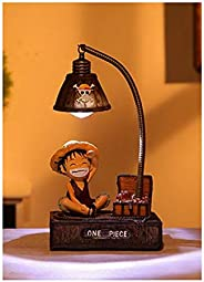 Cute Japanese Anime Luffy Chopper LED Night Light Action Figure Toys Home Deocr Lights Lamp Table Lamp Friends