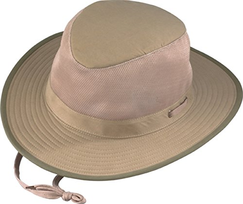 National Geographic Henschel Weiche gebürstete Baumwolle Aussie Breezer Hat XL Khaki Preisvergleich