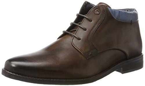 Salamander Herren Sienno-Aw Klassische Stiefel, Braun (Brown, Navy), 42 EU