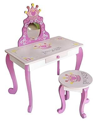 Bebe Style Wooden Princess Dressing Table & Stool - cheap UK light shop.