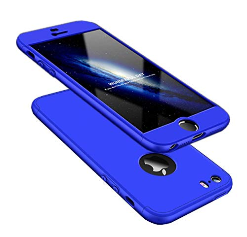 AILZH Funda iPhone 5/5S/SE Cubierta 360 Grados Caja