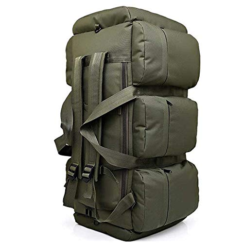 TnXan Large Backpack Rucksack Camping Backpack Tactical Bags Climbing Military Rucksack Large Luggage Backpacks Camouflage Outdoor Shoulder Bag 90L
