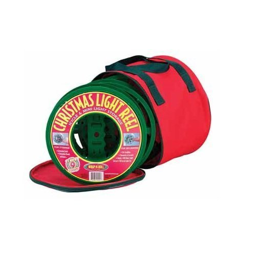 Christmas Light 76003-2ac Chirstmas Light Reels And Storage Bag by Christmas Light (Christmas Reel Light)