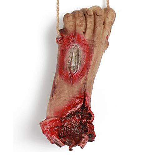 L Big Boss Halloween Dekoration Simulation Gliedmaßen gebrochen Lanyards, Foot, Einheitsgröße (Big Foot Halloween-kostüm)