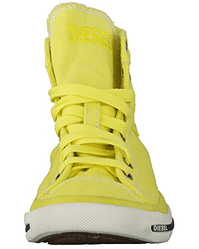 DIESEL - Damen Sneakers Chukka boots EXPOSURE IV W Gelb (Green Sheen T3016)