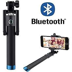 Selfie Stick – Motorola Moto G4/4G Plus – con Bluetooth [senza batteria], Mini e senza tempo, per ritratti perfetti – BSTICK Blu