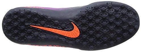 Nike 749899-845 Herren Hallenfußballschuhe Mehrfarbig (Pures Karmesinrot/Lebhaftes Lila/Obsidian)