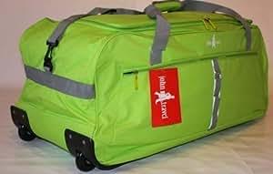 John Travel Valise à roulettes ultra-légère Vert 1,8 kg 95 l XXL