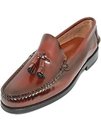 Zapato Mocasín Tipo Castellano con Borlas JOHN COLEMAN Color Marrón