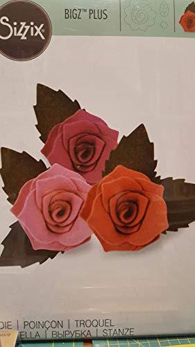 Fustella Sizzix 661984 Rose 3D