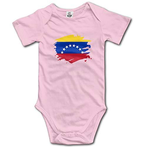 Louis Berry Venezuela Paint Splatter Flagge, Baby Kurzarm Strampler Infant Bodysuit Neugeborenen Overall Strampler - Old Navy Striped-shorts