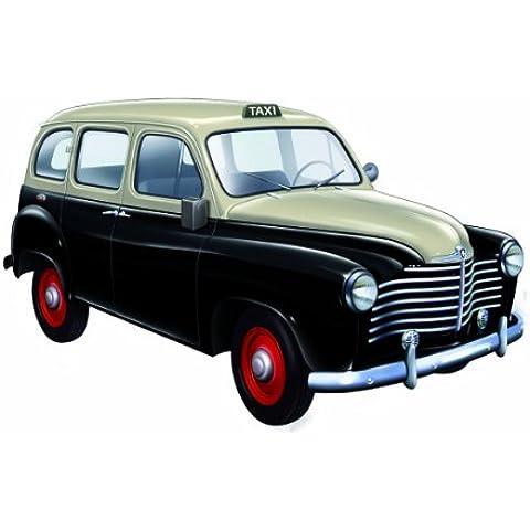 Dickie-Schuco 421431210 - Solido - Taxi Renault Colorale 1953 realizzato in scala 1:43; colore: Nero/Crema