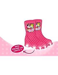 Botas de agua Minnie Mouse Con luces Led en la suela