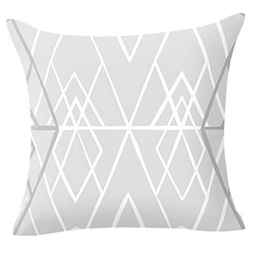 OYSOHE Kissenbezug Geometrische Kissen Fall Taille Kissenbezug Sofa Wohnzimmer Dekoration,45x45cm