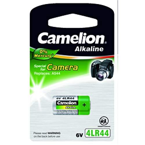 Pile jetable Camelion 4LR44 Alkaline, 6V, Alkaline [ Piles spéciales ]