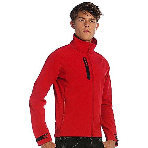 B&C - Herren Softshell-Jacke 'X-lite Men' Deep Red