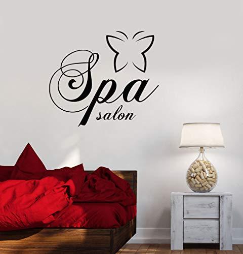 YuanMinglu Spa Salon Weibliche Mädchen Lifestyle Wandaufkleber Schönheitssalon Behandlung Massage Entspannen Poster Wanddekoration 68,4X78 cm -