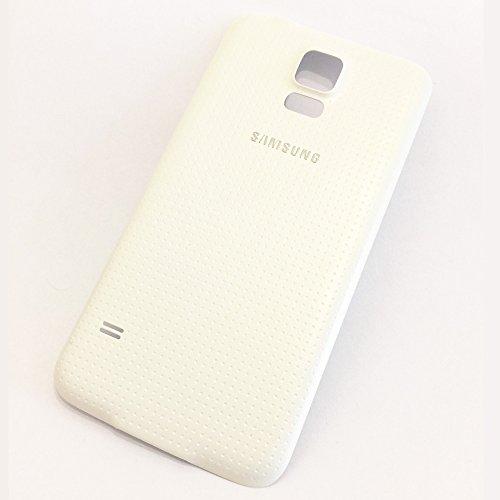 Battery Door Back Cover Fix Ersatz Ersatzteile für Samsung Galaxy S5V i9600SM-G900, Weiß (Back S5 Galaxy Cover-ersatz)