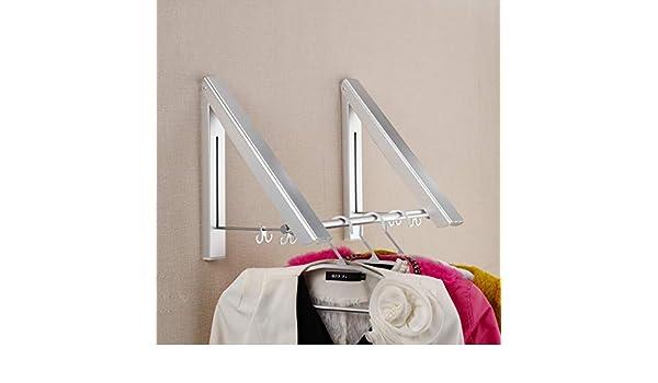 Fkkleiderstangen faltbarer wandhalter luftgekühlter aluminium