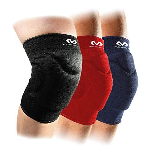 Mcdavid Unisex Adult 602R Volleyball 602 Flexy, Knieschoner Damen und Herren, Schwarz, XS