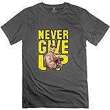 Men's WWE Never Give Up John Cena T-Shirt Natural Natural-L