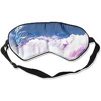 Comfortable Sleep Eyes Masks Sky Clouds Whale Pattern Sleeping Mask For Travelling, Night Noon Nap, Mediation... preisvergleich bei billige-tabletten.eu