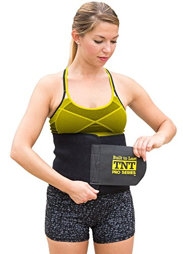 tnt-pro-series-waist-trimmer-weight-loss-ab-belt-premium-stomach-wrap-and-waist-trainer-small-8-wide