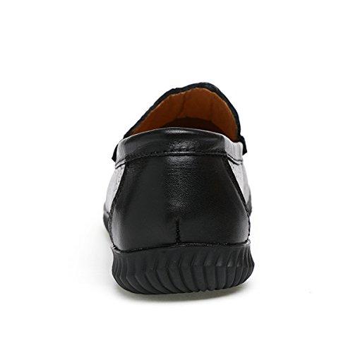 Miyoopark, Mocassini uomo Black-Style1