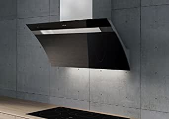 berbel kopffreihaube glassline bkh 90 gl 2 schwarz elektro gro ger te. Black Bedroom Furniture Sets. Home Design Ideas