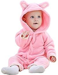 MICHLEY Oso Pelele de Bebés Niños Niñas del Otoño e Invierno Ropa Unisex