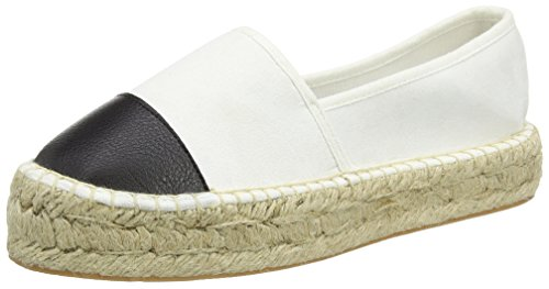 Another Pair of Shoes Eliza K4 - Espadrillas Donna, multicolore (black/white 203), 40