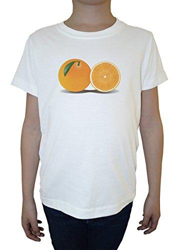 agrios-blanco-algodon-nino-ninos-camiseta-manga-corta-cuello-redondo-mangas-white-boys-kids-t-shirt