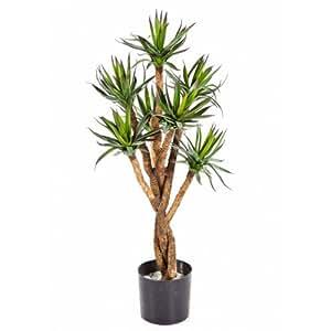 Agave artificiel, 203 feuilles, 70 cm - plante synthétique / arbuste plastique - artplants