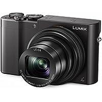 Panasonic Lumix DMC-TZ101EGK Premium Travelzoom Kamera (20,1 Megapixel, 10x opt. Zoom, 7,6 cm (3 Zoll) Display, 4K Foto 30B/s, Post Fokus, 4K25p Video, Sucher) schwarz