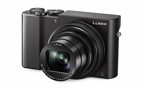 Panasonic Lumix DMC-TZ101EGK Premium Travelzoom Kamera (20,1 Megapixel, 10x opt. Zoom, 7,6 cm (3 Zoll) Display, 4K Foto 30B/s, Post Fokus, 4K25p Video, Sucher) schwarz