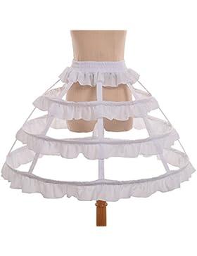 GRACEART Victoriano Vestir Cesto Bullicio Enaguas Miriñaque