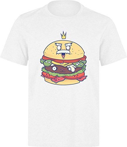 food-king-white-t-shirt-l