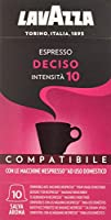 Lavazza Cápsulas de Café Compatibles Nespresso, Paquetes de 10 x 10 Cápsulas (Total: 100 Cápsulas)