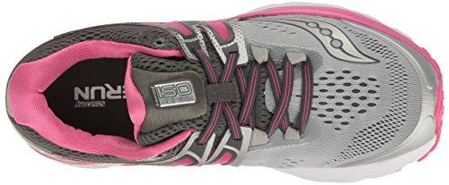 Saucony Chaussures de Course Hurricane ISO 3Chaussures de Course pour Femme-SS17 Gris