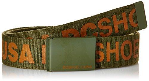 DC Shoes - Cintura - Uomo verde Vert (Vintage Green) Taglia unica