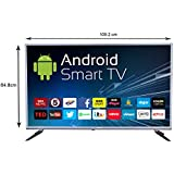 eAirtec 125 cm  50 Inches  Full HD Smart LED TV 50 Smart  Grey  Standard Televisions