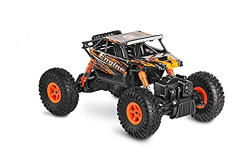 SZJJX RC Rock Off-Road Vehicle 2.4Ghz 4WD High Speed 1:18 Racing Cars RC Cars Remote Radio Control Cars Electric Rock Crawler Electric Buggy Hobby Car Fast Race Crawler