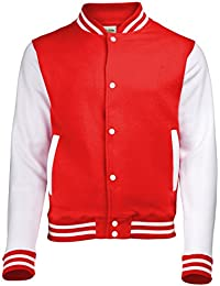 Jacke im Stil einer Uni-/Baseball-Jacke, Unisex